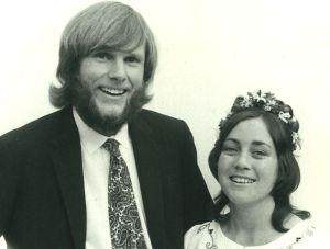Richard&Louise 1973 wedding